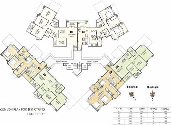 Trimurti Wateridge Cluster Plan