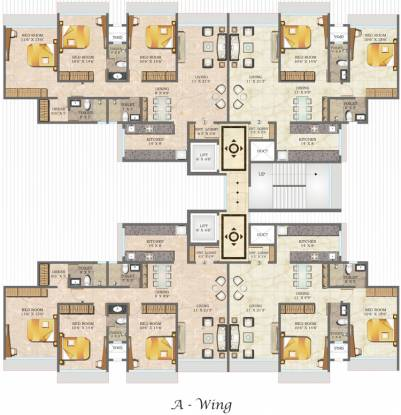 Paranjape Royal Court Cluster Plan
