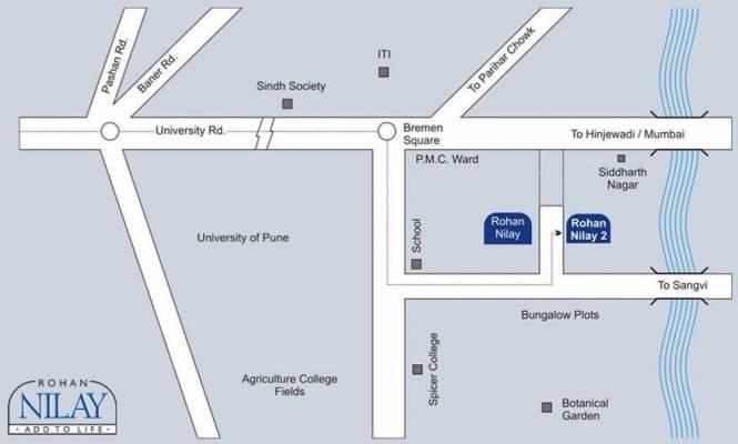 Rohan Nilay Location Plan