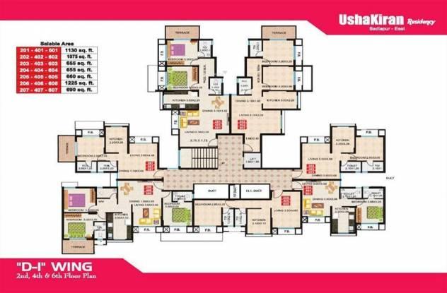 Stalwart UshaKiran Residency Cluster Plan