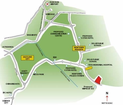 Unitech Cascades Location Plan