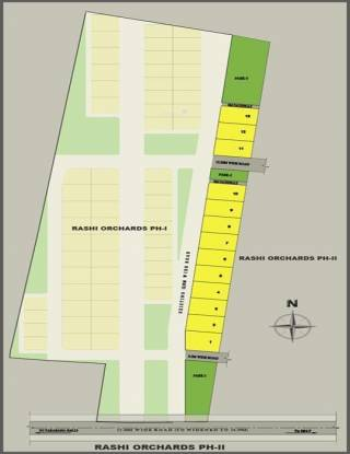 Rashi Orchards Layout Plan