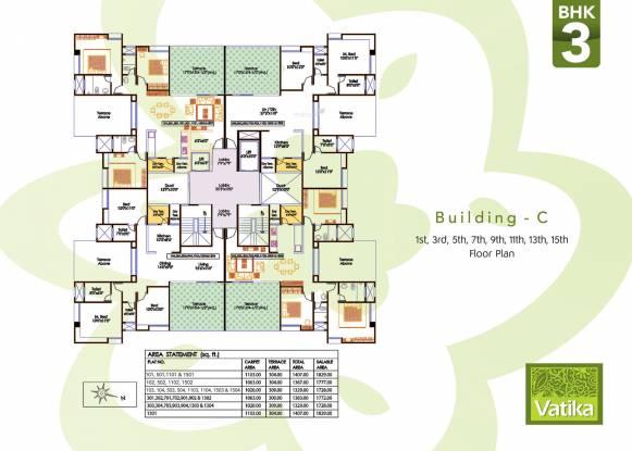 Bhujbal Vatika Homes Cluster Plan