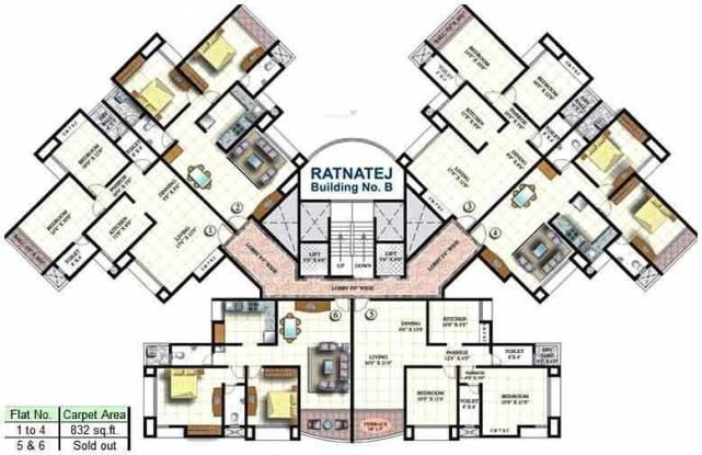 Sadhana Dhaval Hills Cluster Plan
