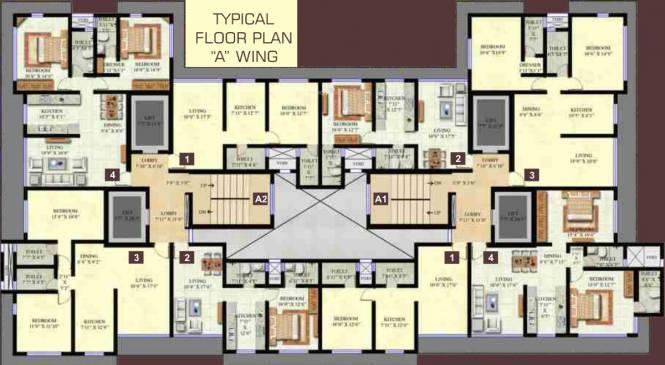 Ashoka Swaroop Residency Cluster Plan