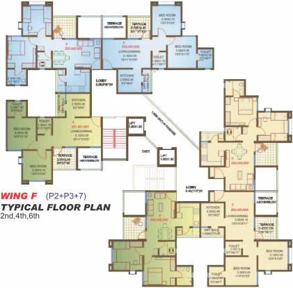 Viva Sarovar Cluster Plan