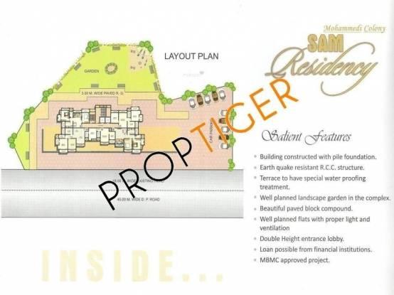 Empire Sam Residency Layout Plan