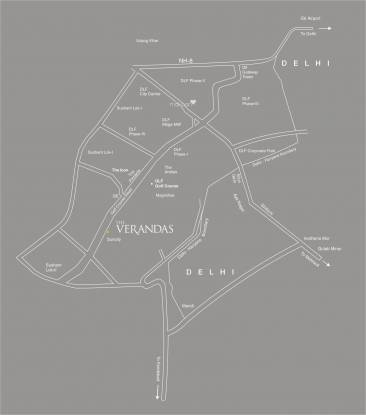 Salcon The Verandas Location Plan