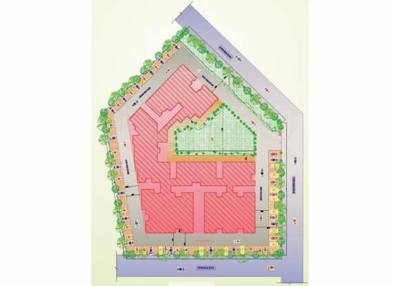 Raj Surya Greens Appartment Layout Plan