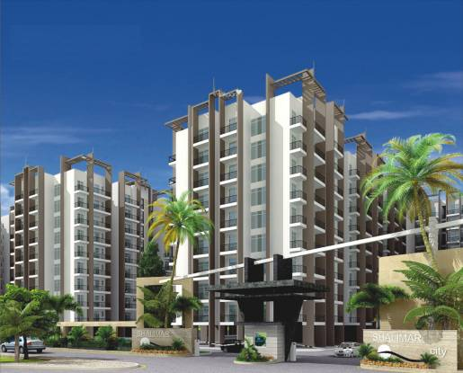 MR Shalimar City Elevation