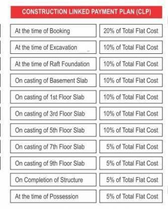 MR Shalimar City Payment Plan
