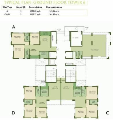 WBIIDC Sankalpa II Cluster Plan
