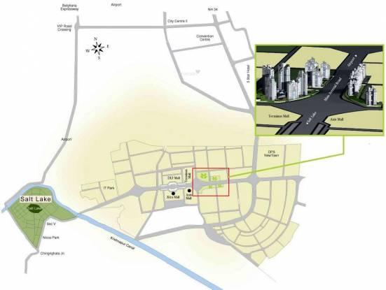 WBIIDC Sankalpa II Location Plan