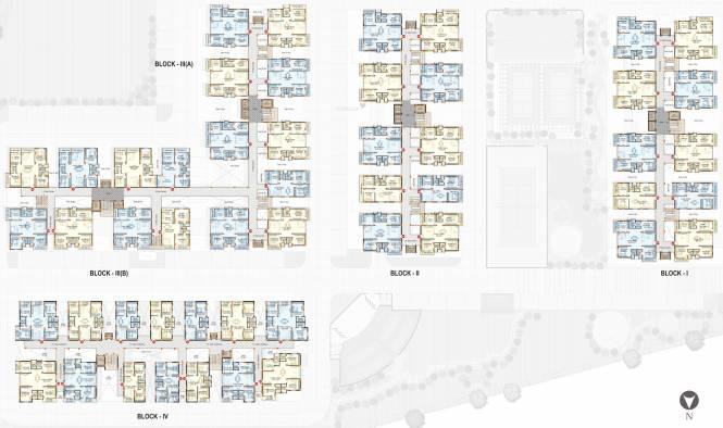 SMR Vinay Fountainhead Cluster Plan