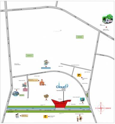 Rishabh Studio9 Tower Location Plan