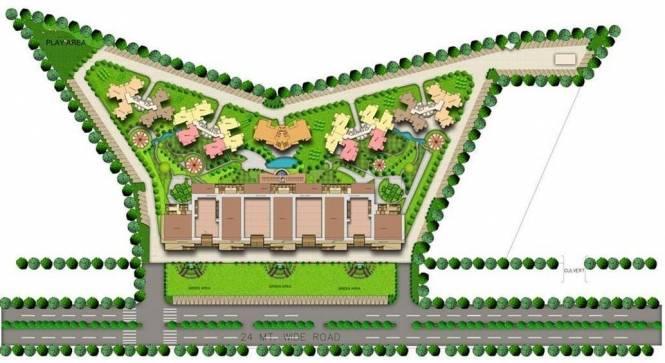 Rishabh Studio9 Tower Site Plan