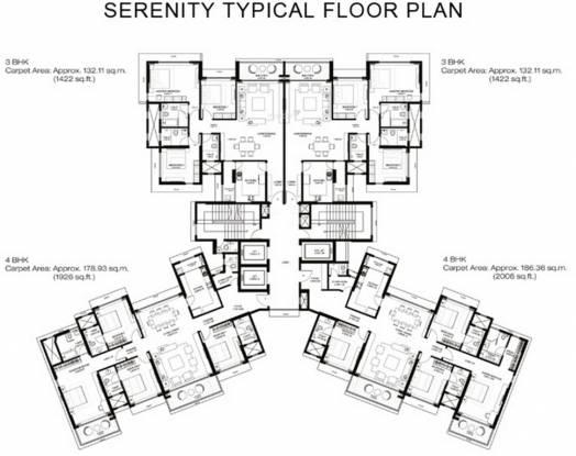 Godrej Serenity Cluster Plan