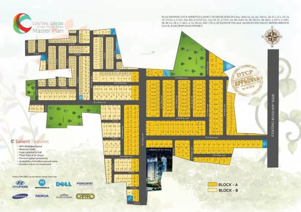 VIP Central Green Master Plan