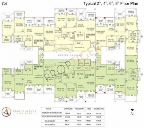 BramhaCorp Avenue Cluster Plan