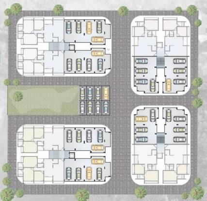 Dharmaja Shivesh 182 Cluster Plan