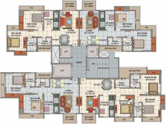 Shree Siddeshwar Gardens Cluster Plan
