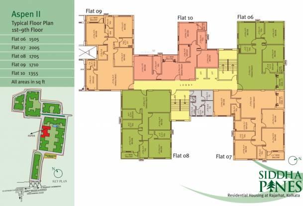 Siddha Pines Cluster Plan