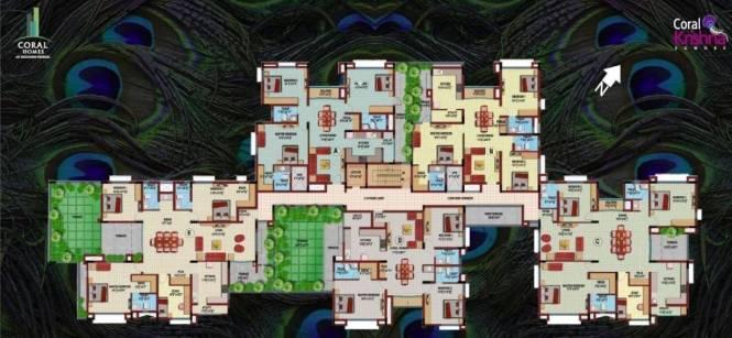 Coromandel Coral Krishna Cluster Plan