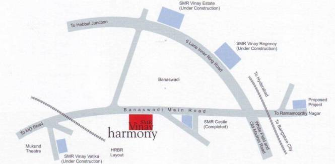 SMR Vinay Harmony Location Plan