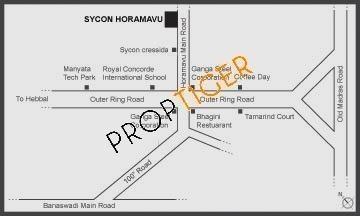 Sycon Horamavu Location Plan