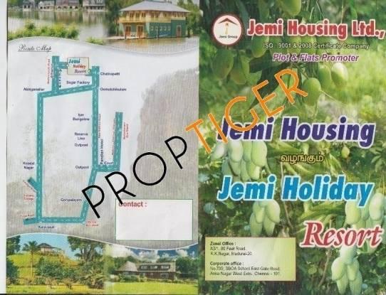 Jemi Holiday Resort Location Plan