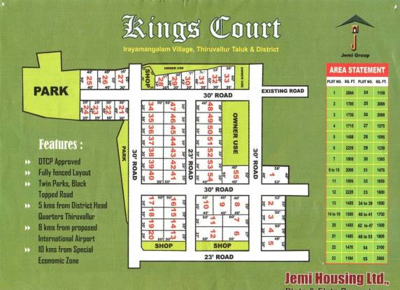 Jemi Kings Court Master Plan