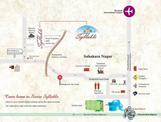 Sierra Syllable Location Plan