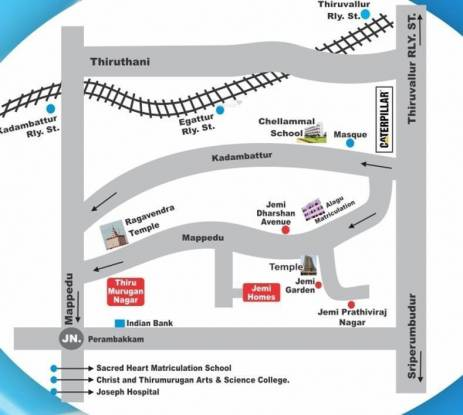 Jemi Homes Location Plan