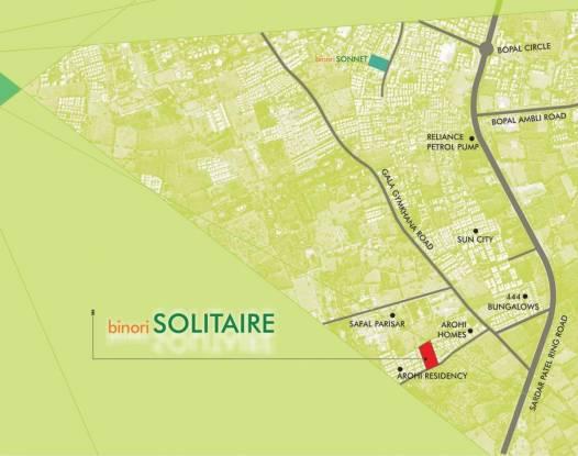 Binori Solitaire Location Plan