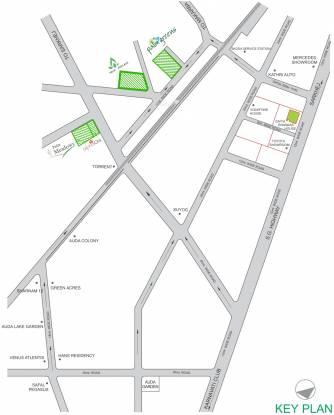 Poddar Palm Greens Location Plan