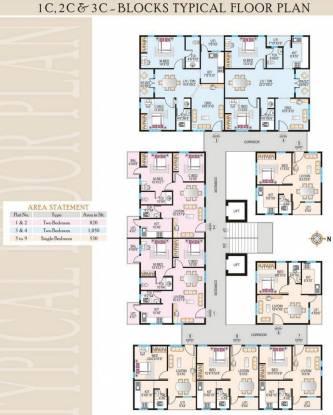 Modi Paramount Residency Cluster Plan