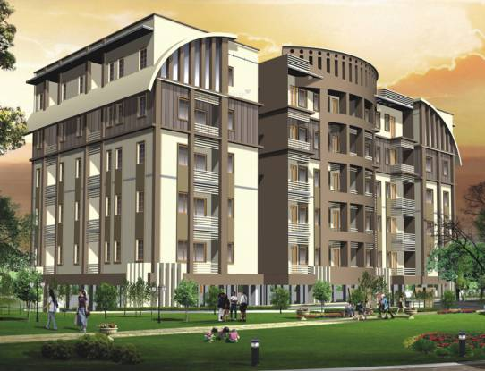 Modi Paramount Residency Elevation