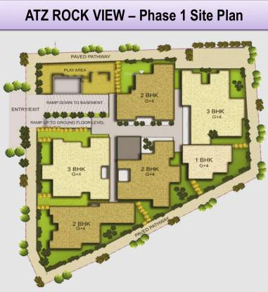 ATZ Rock View Site Plan