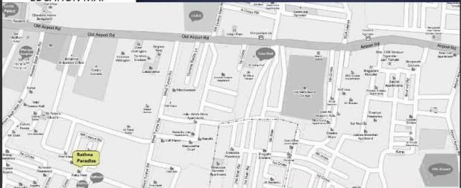 Anjaneya Rathna Paradise Location Plan