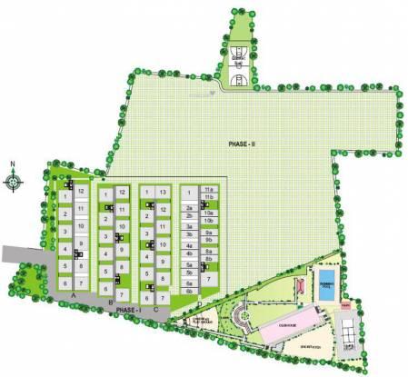 Modi Emerald Heights Layout Plan