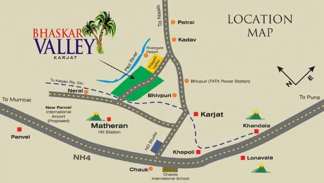Orior Bhaskar Valley Location Plan