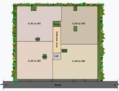 Insight Dwaraka Site Plan