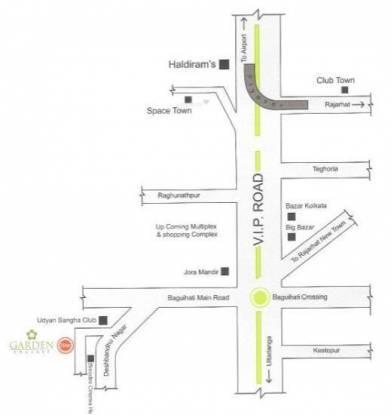 MV Garden Enclave Location Plan