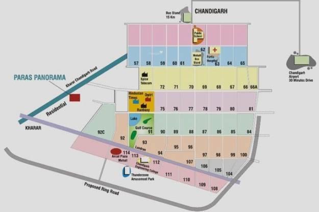 Paras Panorama Location Plan