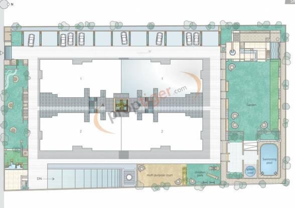 Goyal Riviera Elegance Layout Plan