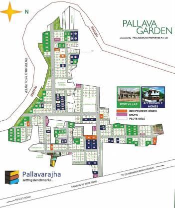 Pallavarajha Pallava Garden Site Plan