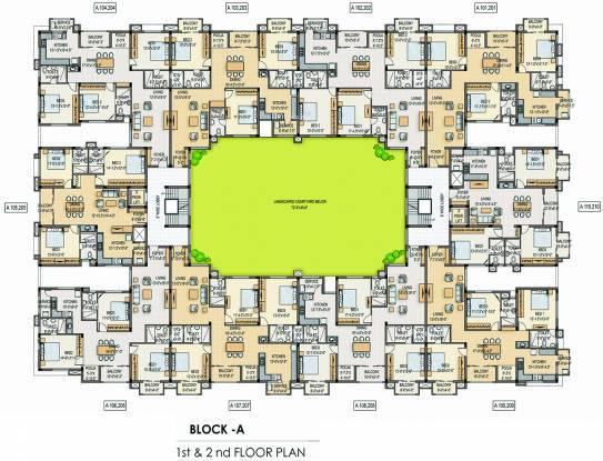 Romaa Parradise Cluster Plan
