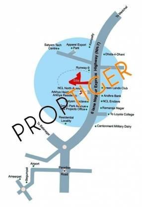 Sree Vensai Towers Location Plan