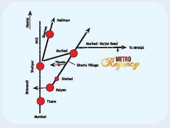 Metro Regency Location Plan