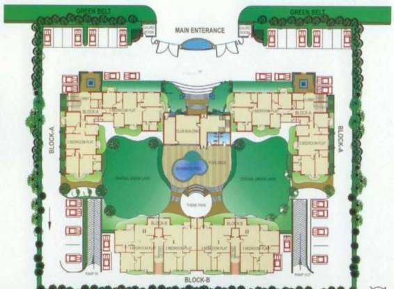 Msx Golf Gardenia Site Plan